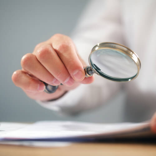 About Grafex Handwriting analysis using a magnifying glass