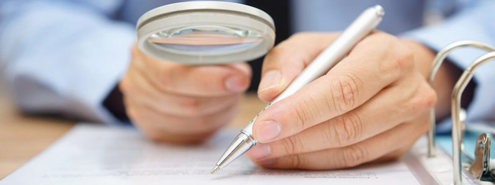 Statement analysis with a magnifying glass