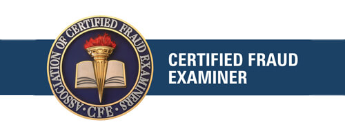 About Grafex Certified Fraud Examiner logo